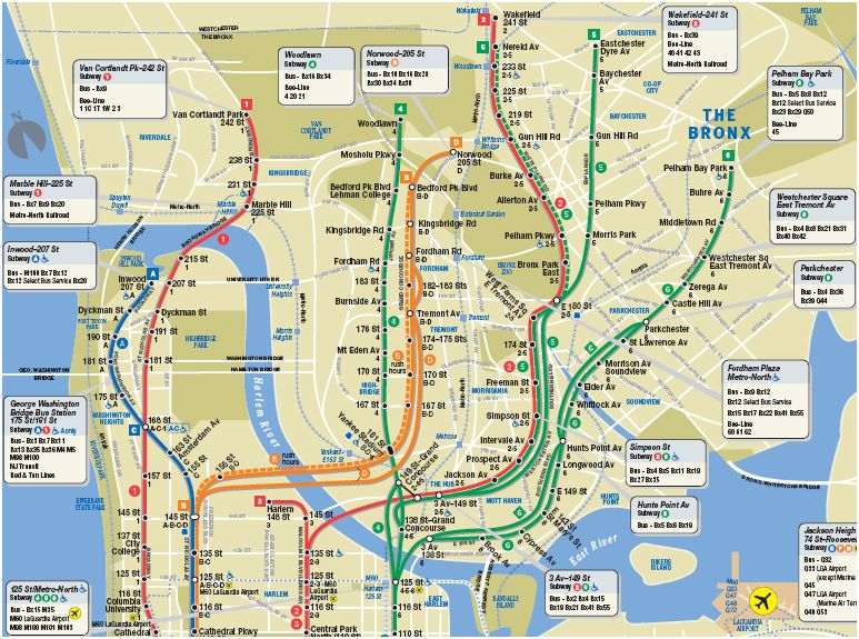Nyc Neighborhood With Subway Map.Renter S Guide Part 3 The Neigborhood Manhattan Bluclover Com