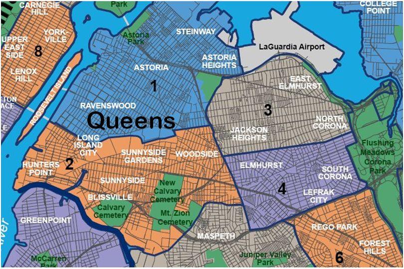 names neighborhoods queens part